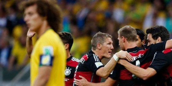 Alemania borra a Brasil en tan solo 20 minutos con una goleada histórica (1-7)