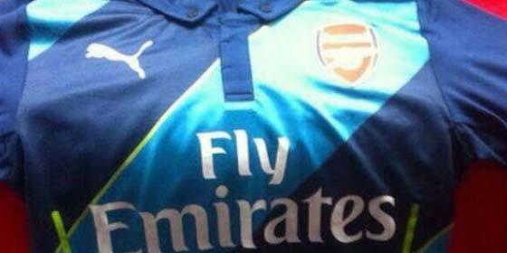 El Arsenal sorprende con su tercera equipación