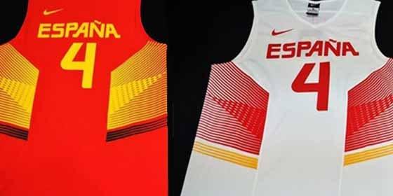 Así serán las camisetas de la selección española de baloncesto para el Mundial