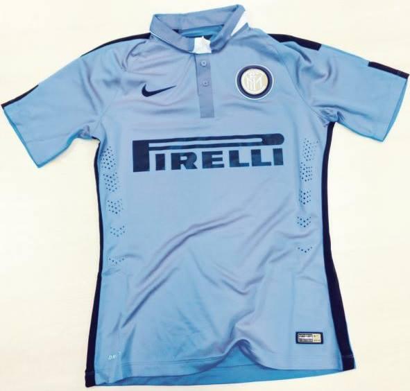El Inter sorprende con su segunda y tercer equipación