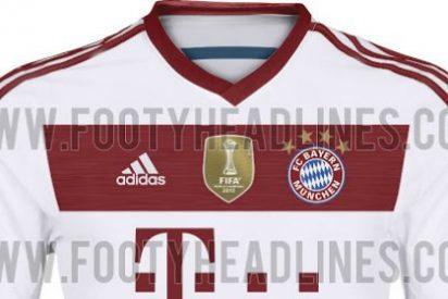 El Bayern sorprende con su tercera equipación