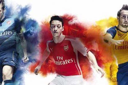 Así vestirá el Arsenal la próxima temporada