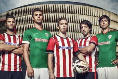 Así son las nuevas camisetas del Athletic