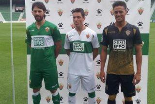 El Elche presenta sus camisetas para la próxima temporada