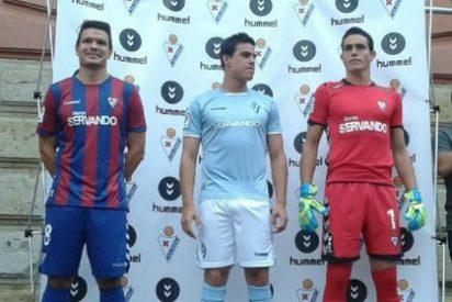 Así vestirá el Eibar la próxima temporada