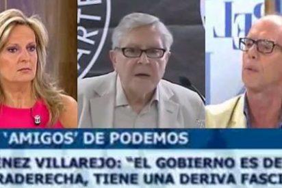 'El Cascabel' carga contra el exfiscal y miembro de Podemos, Jiménez Villarejo, por su gusto a tildar de fascista al Gobierno