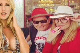 Charlie Sheen apareció con una actriz porno en los San Fermines