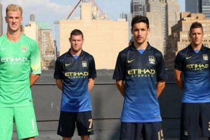 Desvelada la segunda camiseta del Manchester City