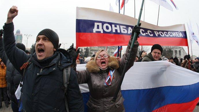Los ucranianos prorrusos acusan al presidente Putin de abandonarles en Slaviansk