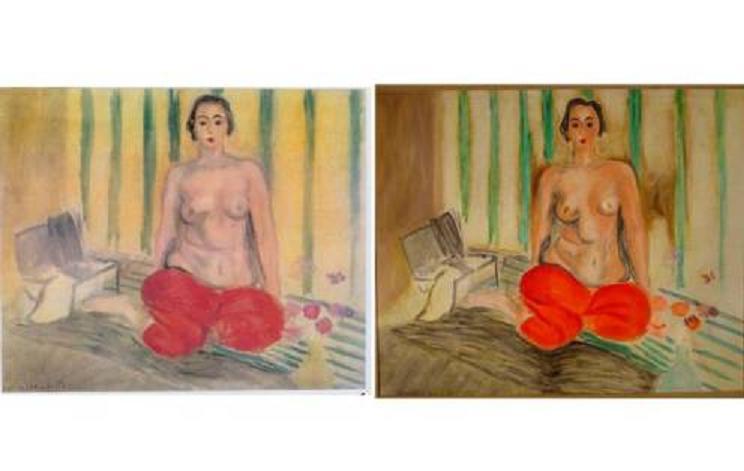 El Matisse 'rojo' al que le dieron el cambiazo en Caracas y hallado en Miami, regresará a Venezuela