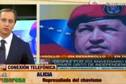 """Una víctima del chavismo desenmascara a Podemos: """"Españoles, abran los ojos, usan la misma estrategia de Chávez"""""""