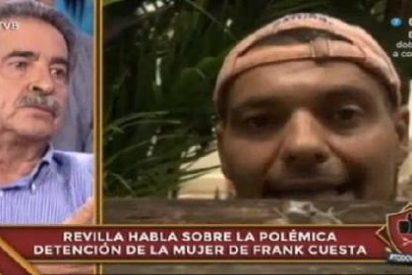 Revilla le da una de anchoas a Tailandia para defender a la novia de Frank Cuesta