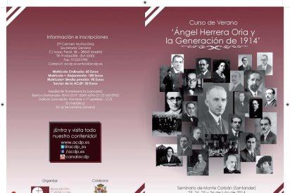 Ángel Herrera Oria y la Generación de 1914