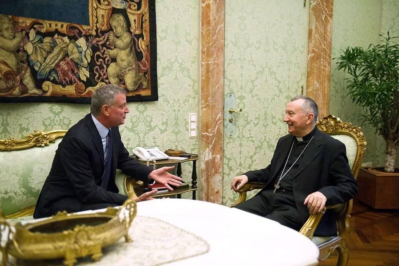 """De Blasio: """"En Nueva York queremos mucho a este Papa"""""""