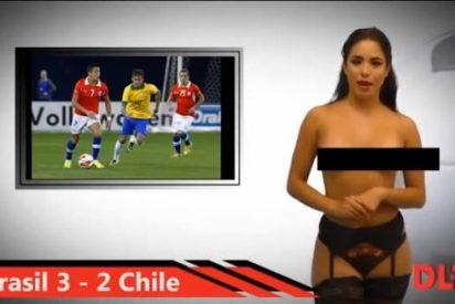 ¡El despelote! Una televisión de Venezuela ofrece el Mundial de Brasil con presentadoras desnudas