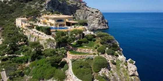 Vivir en la villa más cara de Mallorca donde se alojó Lady Di cuesta 38 millones del ala
