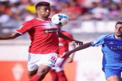 Eddy Silvestre se acerca al Almería