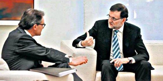 Tras el encuentro Rajoy-Mas, ¿Hay más acercamiento? pues quizá sí, mire usted...