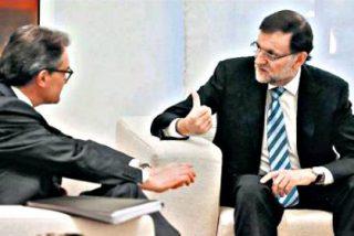 Mariano Rajoy y Artur Mas se reunen en La Moncloa durante dos horas y media