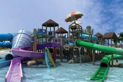 El parque Warner estrena su parque acuático