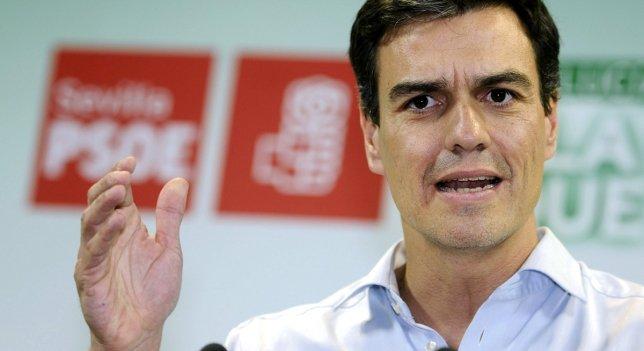 PSOE: Pedro Sánchez, ya manda
