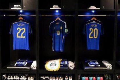 Argentina jugará la gran Final de esta noche con esta camiseta