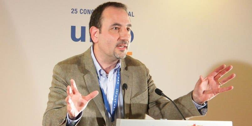 Espadaler (UDC) dice que la cuestión catalana solo se soluciona con diálogo y votos