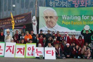 Noventa obispos acompañarán al papa en su visita a Corea del Sur