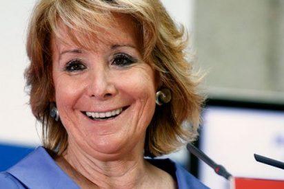 """Esperanza Aguirre: """"Podemos está con el chavismo, con el castrismo y con ETA"""""""