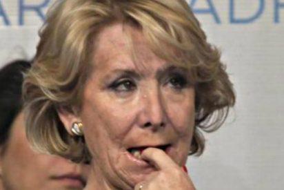 Esperanza Aguirre reta a Pablo Iglesias a dar a las víctimas del terrorismo el dinero recaudado para denunciarla