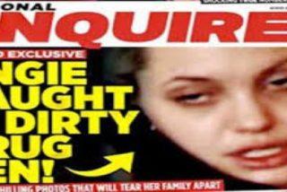 Las fotos de Angelina Jolie drogada hasta las cejas que descolocan a cualquiera