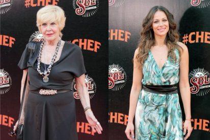 Eva González, Concha Velasco y otros rostros conocidos en el estreno de 'Chef'