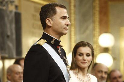 El Rey Felipe VI y Doña Letizia entregan los Reales Despachos en la Academia Básica del Aire
