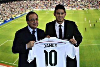 James Rodríguez: «Espero dar muchas alegrías a los madridistas y dar títulos al Real Madrid»