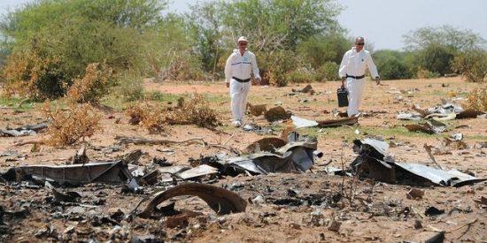 El avión de Swiftair que se estrelló en Mali cayó en picado desde 10.000 metros...¡durante 3 minutos!