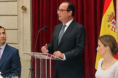 El presidente francés Hollande vuelve a 'mojarse' contra el secesionismo de Artur Mas