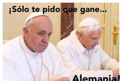 Francisco y Ratzinger no verán juntos la final