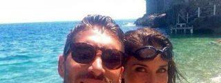 Pilar Rubio se olvida de los bollos y se bebe un mojito en la playa con Sergio Ramos