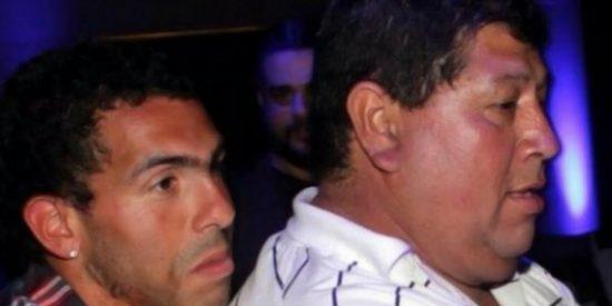 Secuestro exprés del padre del jugador del Turín Carlos Tévez: 23.000 € y a casa