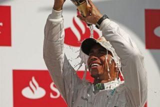 Hamilton reina en el Gran Premio de Gran Bretaña en Silverstone y Alonso acaba sexto