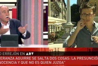 """Chani Pérez Henares acorrala al 'niño bonito' de Podemos: """"Ustedes claro que son casta, casta chavista"""""""