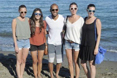 Las hijas de Bertín Osborne, divertida jornada en alta mar junto al actor, Amaury Nolasco