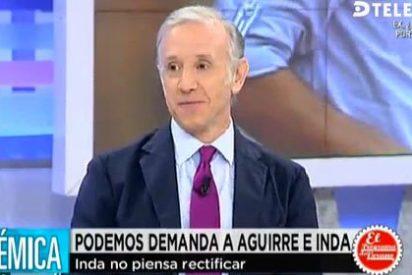 """Inda sobre la demanda de Podemos: """"He dicho la verdad, lo publicaron Periodista Digital y El País y tengo los documentos"""""""