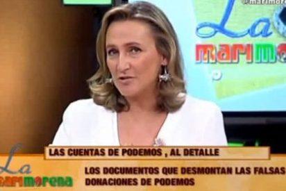 Isabel Durán le da un sopapo 'Con Mano Izquierda' a Pablo Iglesias y sus salarios de esclavitud