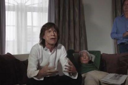 """Mick Jagger le echa cara y presenta a Monty Python: """"Panda de viejos arrugados"""""""