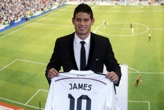 James Rodríguez ha vendido ya 345.000 camisetas del Real Madrid