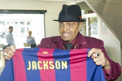 """Joseph, padre de Michael Jackson: """"El FC Barcelona me recuerda a los Jackson Five"""""""