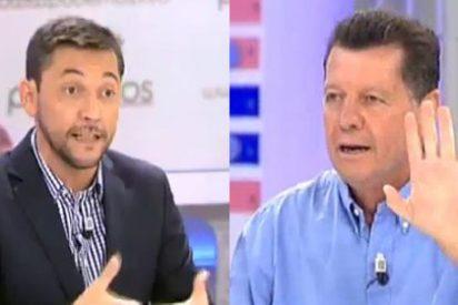 """Rojo se encara con Javier Ruiz por proteger a Podemos: """"¿Nuestra labor es ocultar la realidad? ¡Venga ya!"""""""
