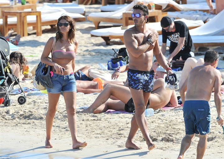 María José Suárez y Javier Lorenzana, primeras vacaciones juntos en Ibiza