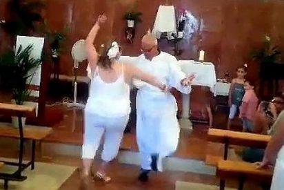 El cura que baila flamenco en su iglesia